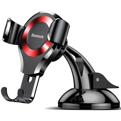 Baseus Gravity Car Mount Osculum Black/Red