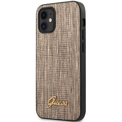 Guess Lizard Gold Kryt iPhone 12 Mini