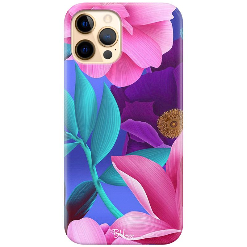 Pinky Floral Kryt iPhone 12 Pro Max