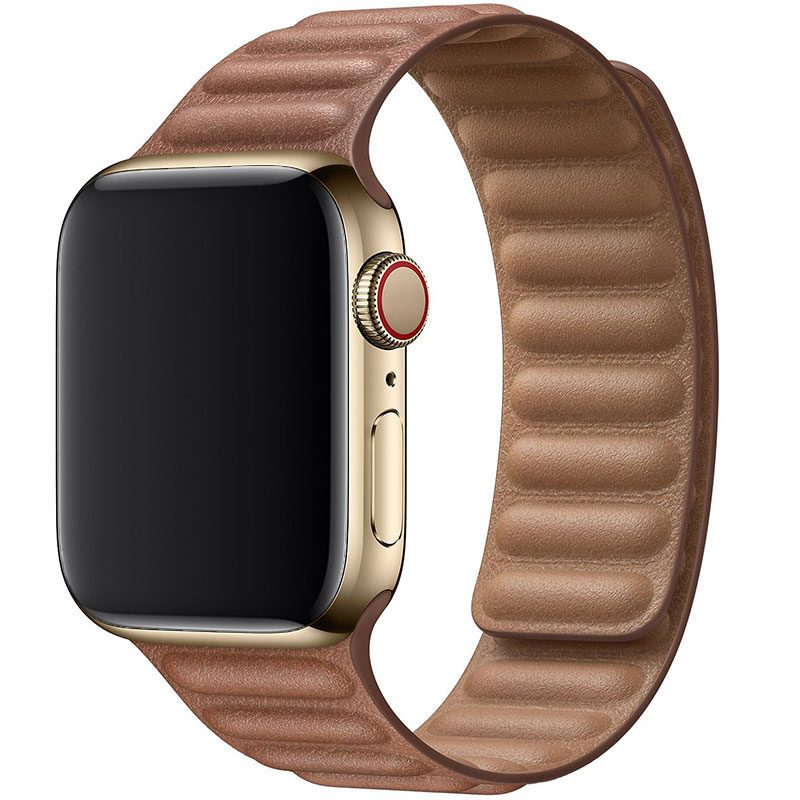 Koženkový Link Náramek Apple Watch 42/44mm Brown