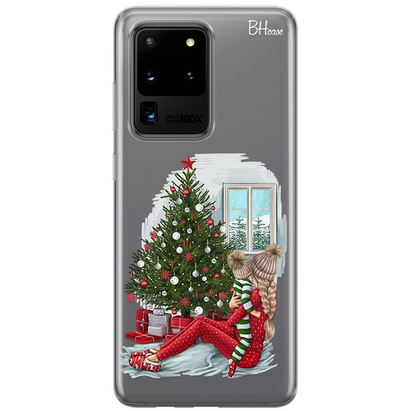 Christmas Mom Blonde Kryt Samsung S20 Ultra