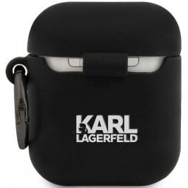 Karl Lagerfeld Rue St Guillaume AirPods Silicone Kryt Black