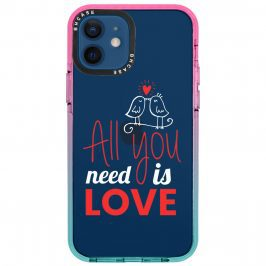 All You Need Is Love Kryt iPhone 12/12 Pro