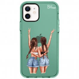 Better Together Brown Hair Kryt iPhone 12/12 Pro