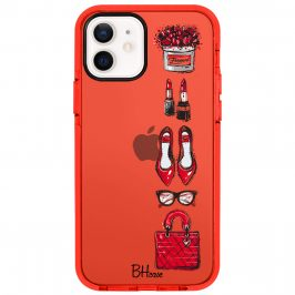 Red Fashion Kryt iPhone 12/12 Pro
