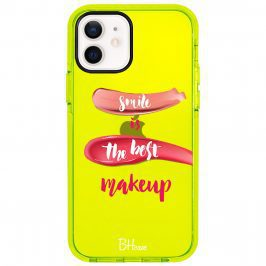 Smile Is The Best Makeup Kryt iPhone 12/12 Pro