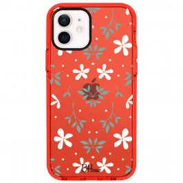 White Floral Kryt iPhone 12/12 Pro