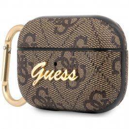 Guess AirPods Pro Case 4G Script Brown