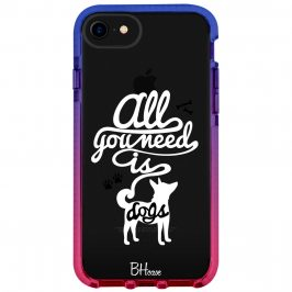 All You Need Is Dogs Kryt iPhone 8/7/SE 2 2020