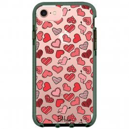 Hearts Red Kryt iPhone 8/7/SE 2 2020