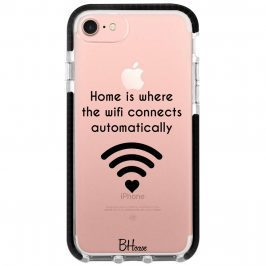 Home Is Where The Wifi Connects Automatically Kryt iPhone 8/7/SE 2 2020