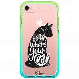 Home Is Where Your Cat Is Kryt iPhone 8/7/SE 2 2020