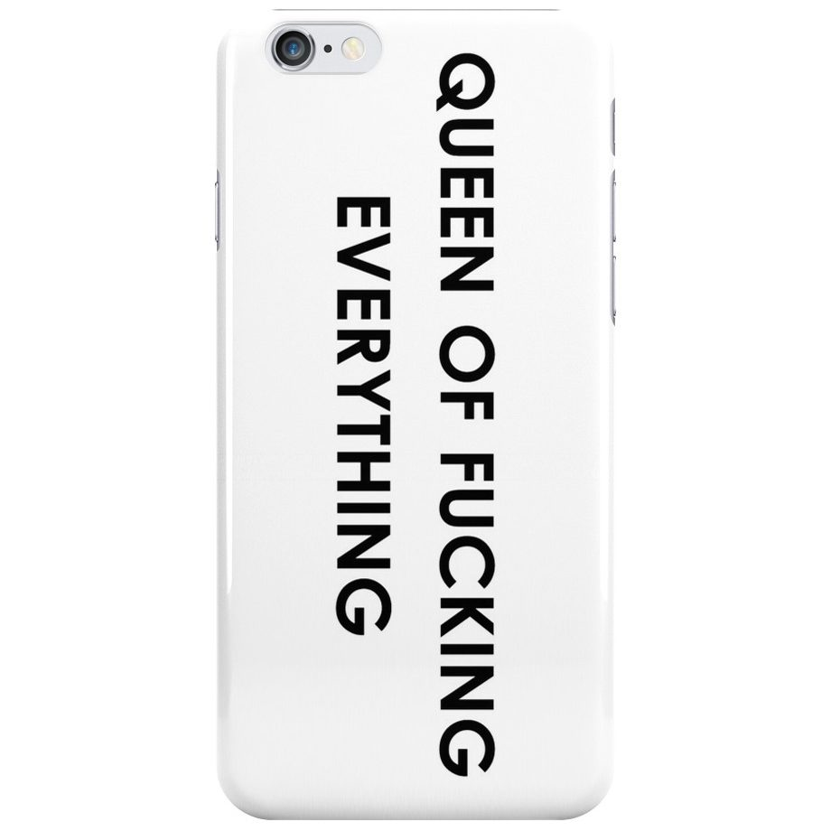Queen Of Everything iPhone 6/6S Tok