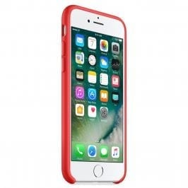 Apple Red Silicone iPhone 8/7/SE 2 2020 Tok