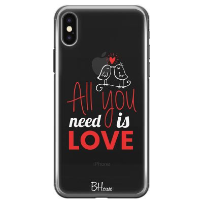 All You Need Is Love iPhone X/XS Tok