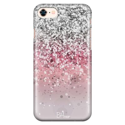 Glitter Pink Silver iPhone 8/7/SE 2 2020 Tok