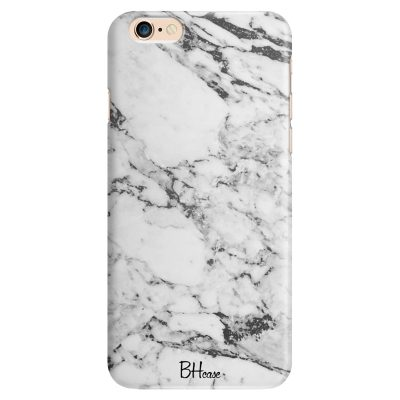 Marble White iPhone 6/6S Tok