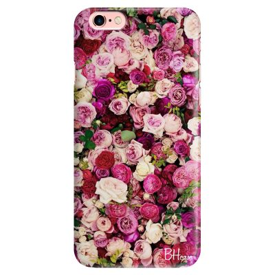 Roses Pink iPhone 6/6S Tok