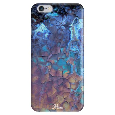 Stone Cracked Blue iPhone 6/6S Tok