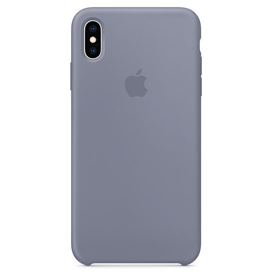 Apple Lavender Gray Silicone iPhone XS Max Tok
