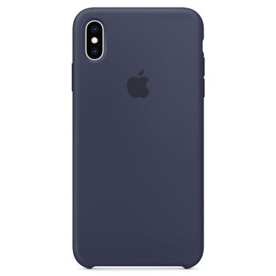 Apple Midnight Blue Silicone iPhone XS Max Tok