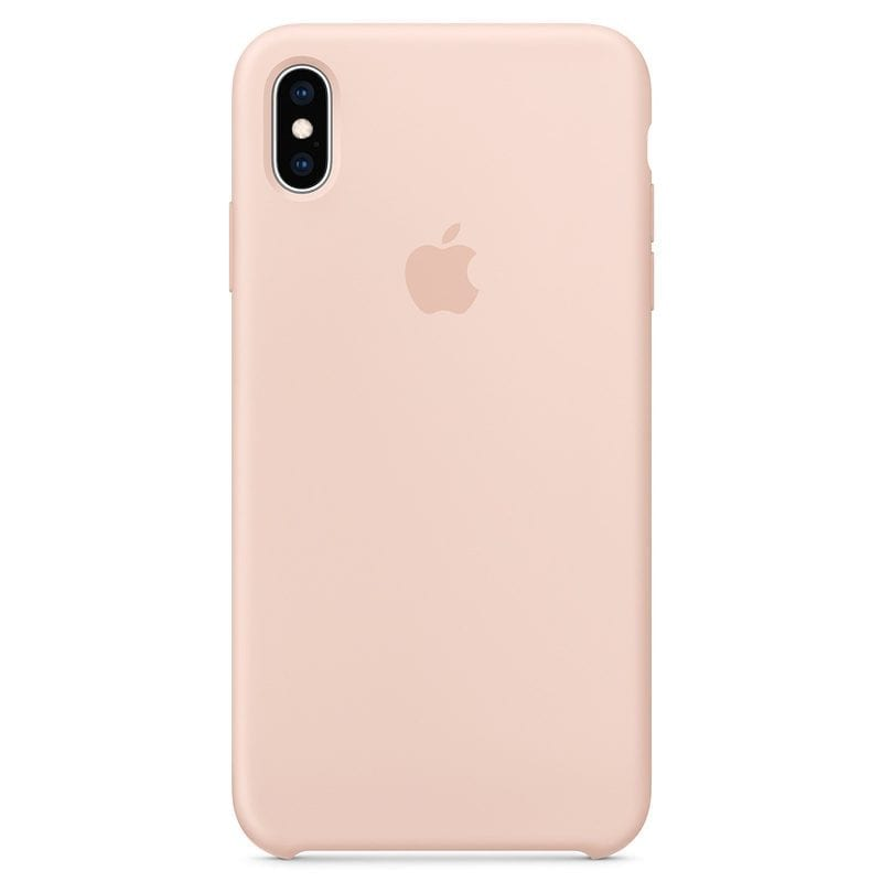 Apple Pink Sand Silicone iPhone XS Max Tok