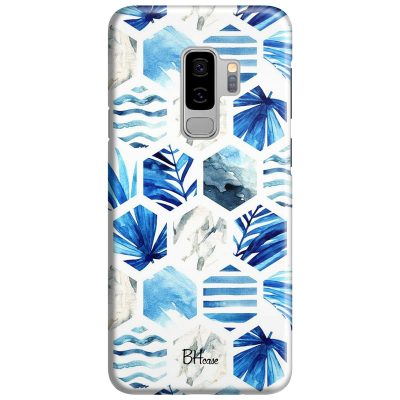 Blue Design Samsung S9 Plus Tok
