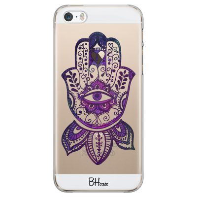 Bohemian Purple Hand iPhone SE/5S Tok