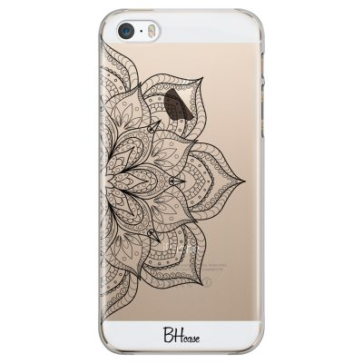 Flower Mandala iPhone SE/5S Tok