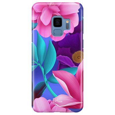 Pinky Floral Samsung S9 Tok