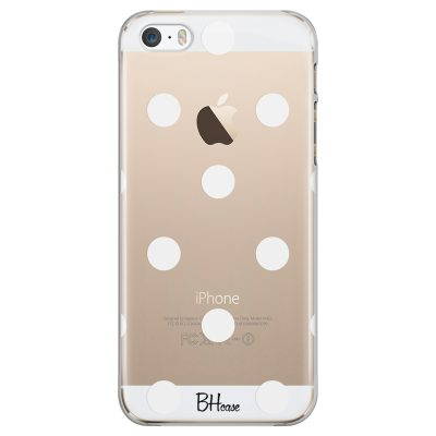 Polka Dots iPhone SE/5S Tok