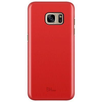 Red Apple Color Samsung S7 Edge Tok