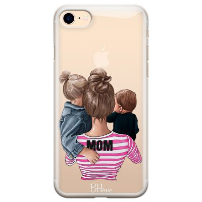 Mom Of Boy And Girl iPhone 8/7/SE 2 2020 Tok