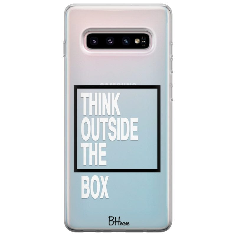 Think Outside The Box Samsung S10 Tok