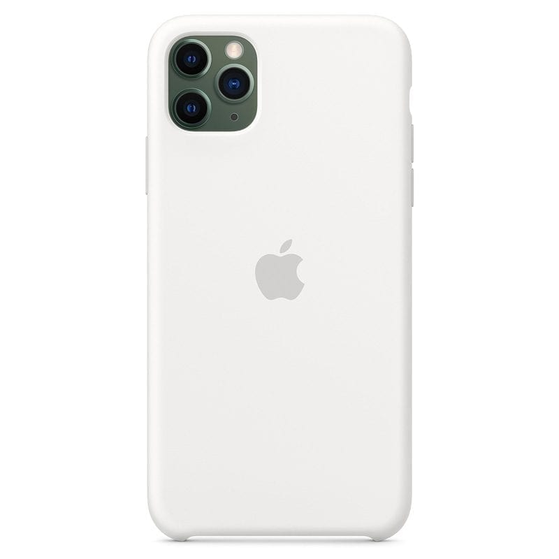 Apple White Silicone iPhone 11 Pro Max Tok