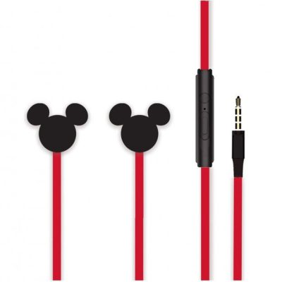 Disney Stereo Earphones 3.5mm Mickey Matt Black