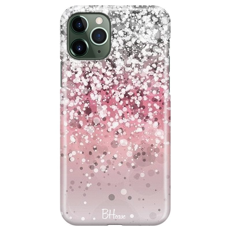 Glitter Pink Silver iPhone 11 Pro Max Tok