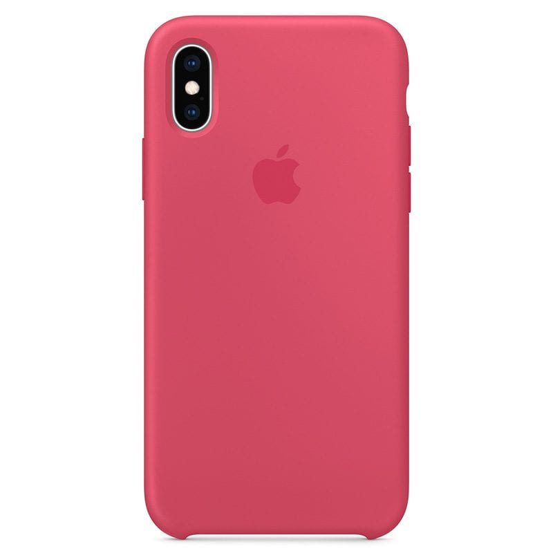 Apple Hibiscus Silicone iPhone XS Tok