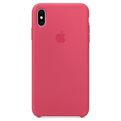 Apple Hibiscus Silicone iPhone XS Max Tok