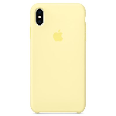 Apple Mellow Yellow Silicone iPhone XS Max Tok