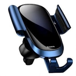 Baseus Future Gravity Car Mount Holder Blue