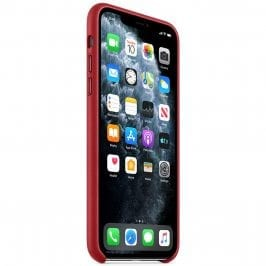 Apple Product Red Leather iPhone 11 Pro Tok