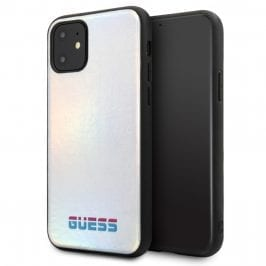 Guess Iridescent Silver iPhone 11 Tok