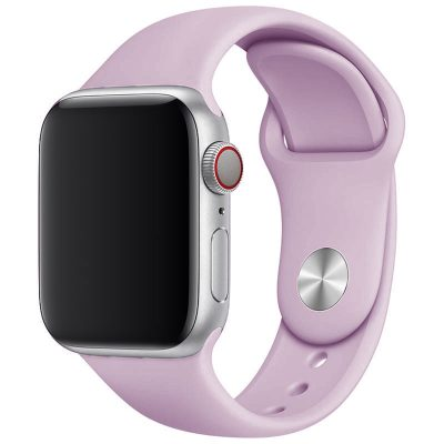 Silicone Szíj Apple Watch 42/44mm Lavender Large