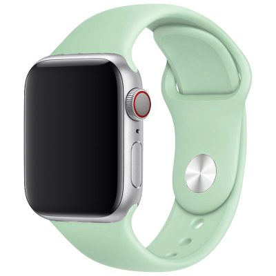 Silicone Szíj Apple Watch 38/40mm Beryl Large