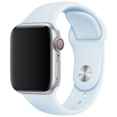 Silicone Szíj Apple Watch 42/44mm Fog Blue Large