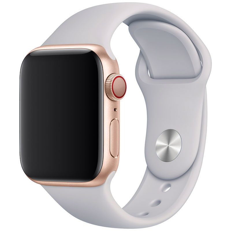 Silicone Szíj Apple Watch 42/44mm Fog Large