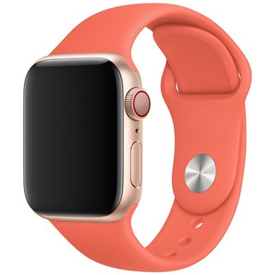 Silicone Szíj Apple Watch 42/44mm Orange Large