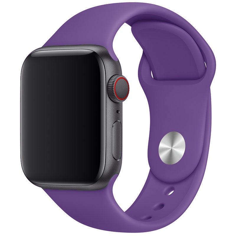 Silicone Szíj Apple Watch 42/44mm Purple Large