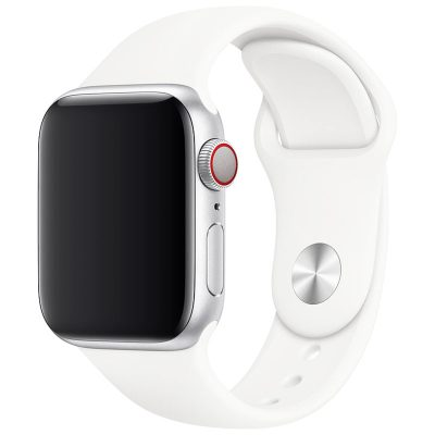 Silicone Szíj Apple Watch 42/44mm White Large
